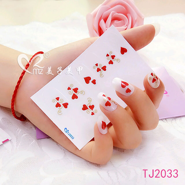 nail art stickers-TJ2033