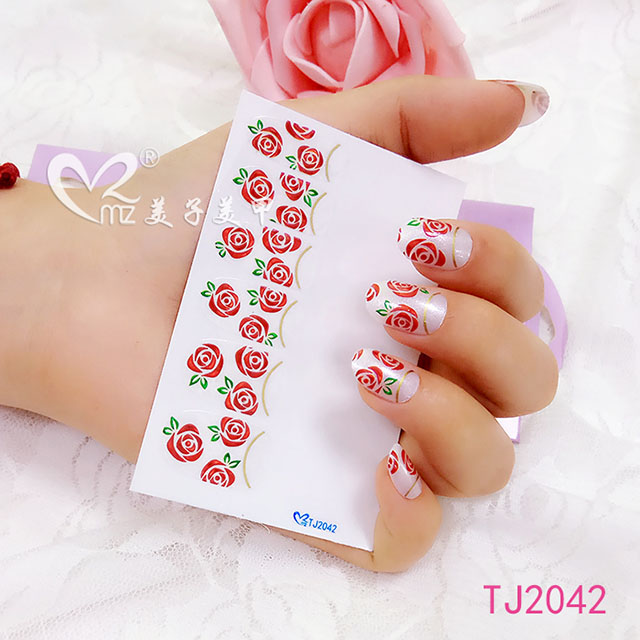 nail art stickers-TJ2042