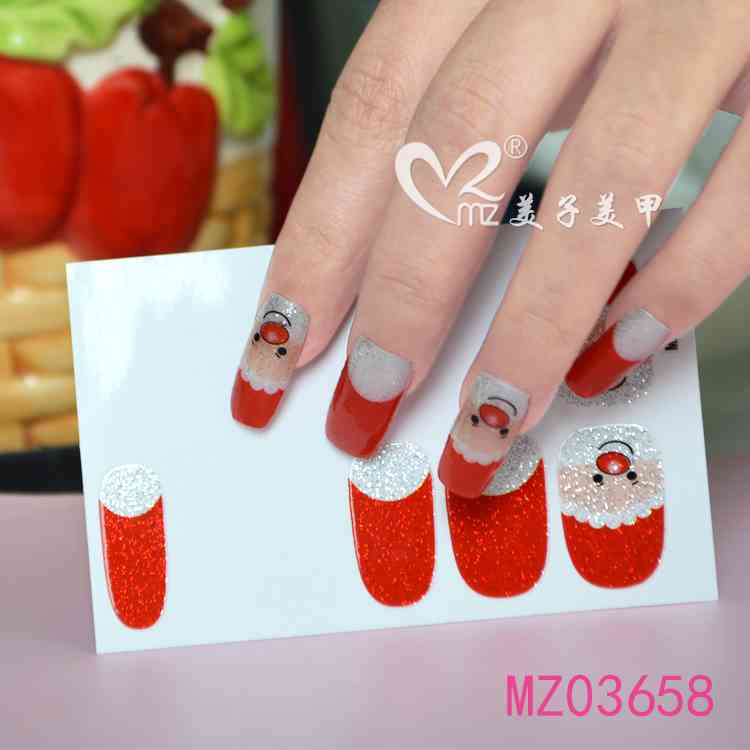 Lovely Christmas nail stickers