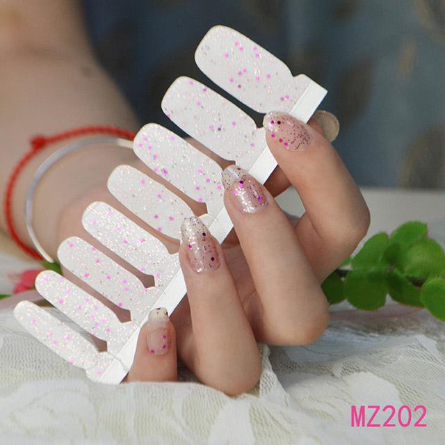 甲油膜指甲贴纸