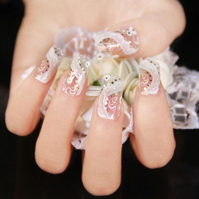 白色指甲贴-白色指甲贴纸